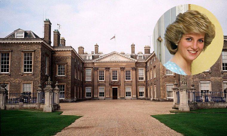 princesa Diana infancia
