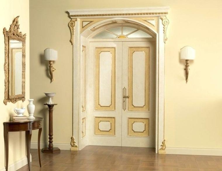 puerta de madera decoración