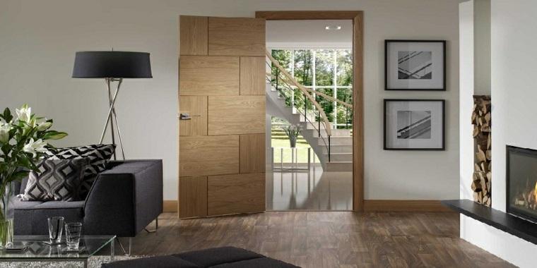 puerta de madera textura