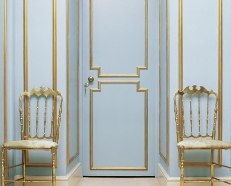 puerta estilo vintage