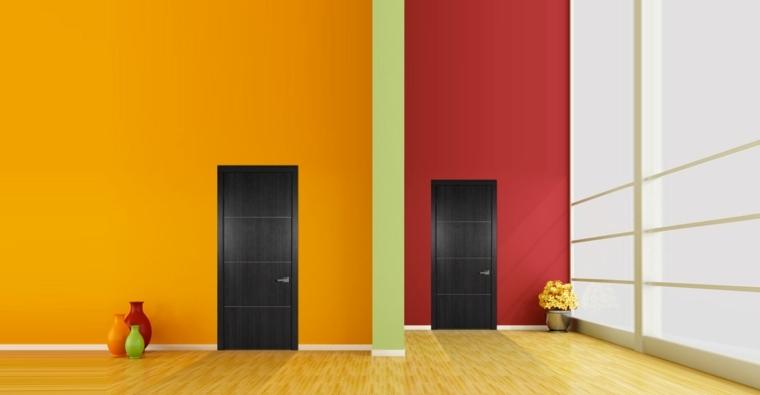 puertas modernas de MDF