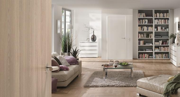 puertas modernas para interiores de casas ideas