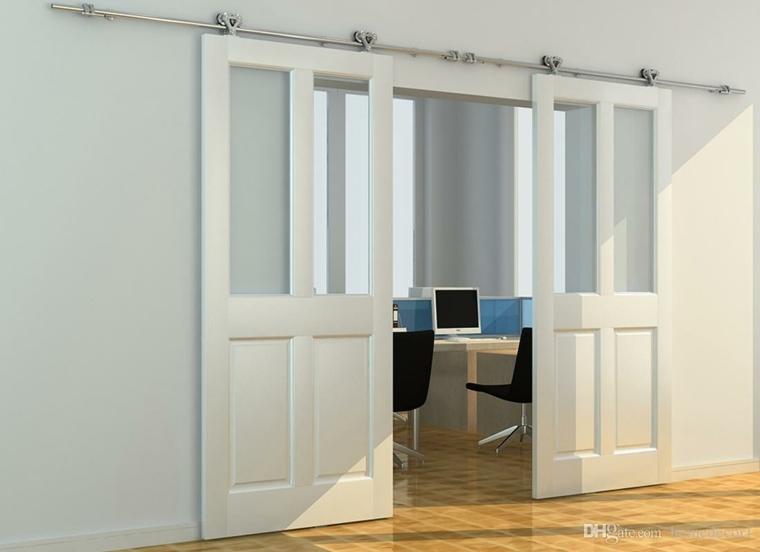 puertas modernas para interiores de casas selección