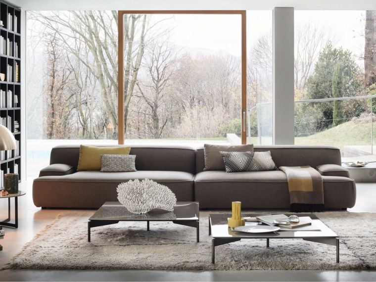 Muebles de sala modernos 2019 – 100+ ideas de los mejores diseñadores