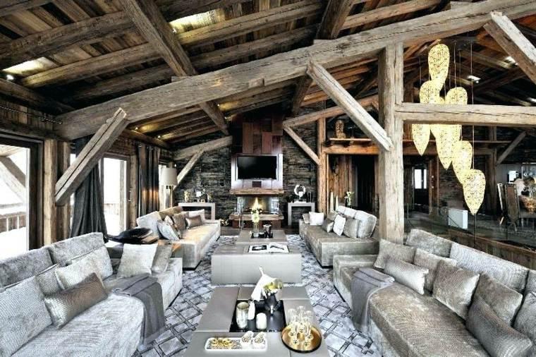 Casas rústicas con interiores modernos – descubre ideas geniales de interiorismo