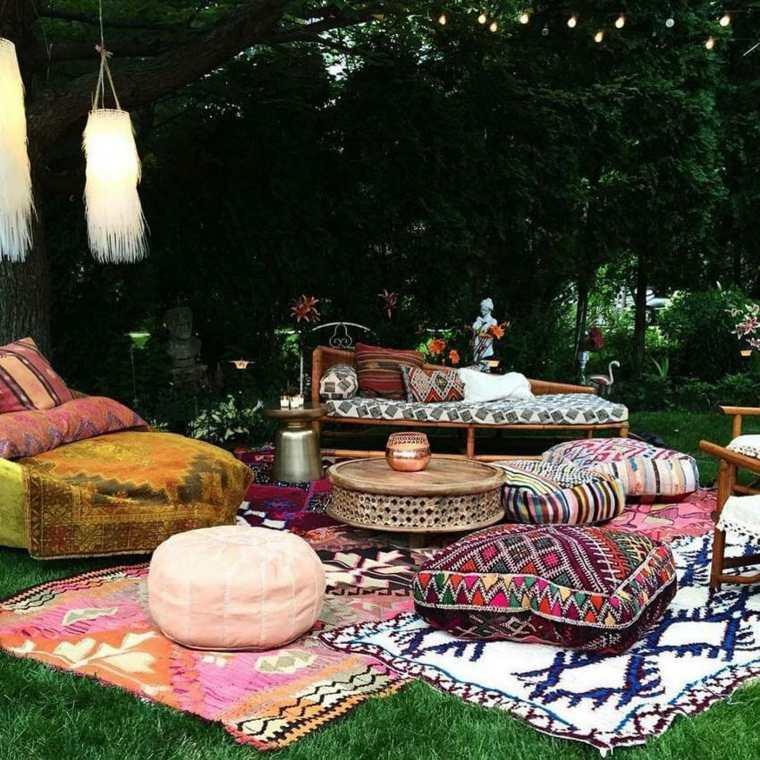 patio estilo boho