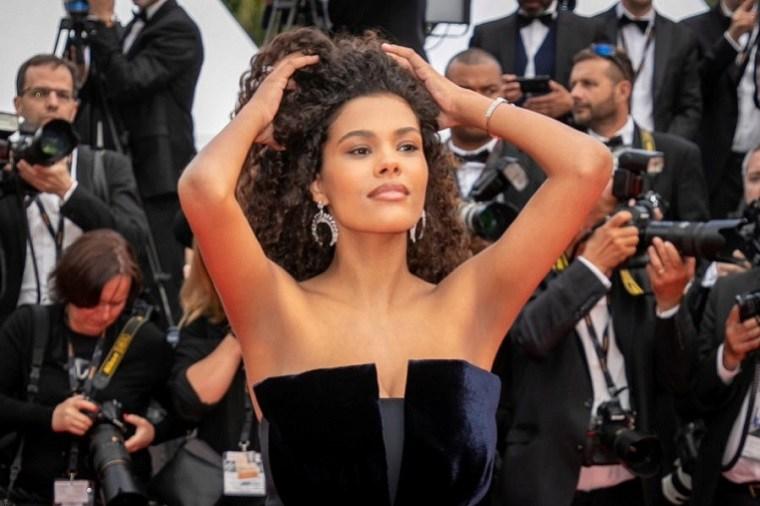 Tina Kukane en el Festival de Cannes 2019