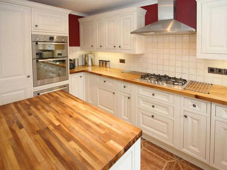 tipos-de-encimeras-de-cocina-diseno-madera