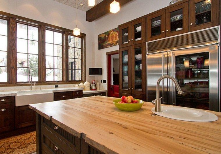 tipos-de-encimeras-de-cocina-opciones-madera