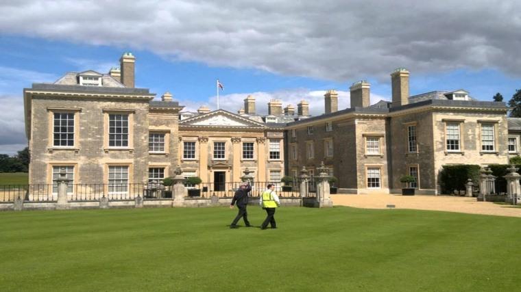 visita a la casa de princesa Diana