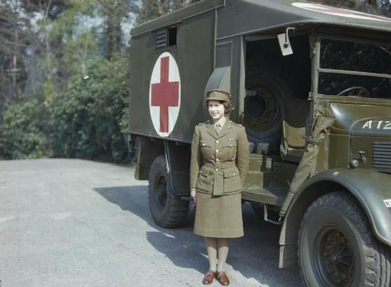 La Princesa Isabel durante la Segunda Guerra Mundial