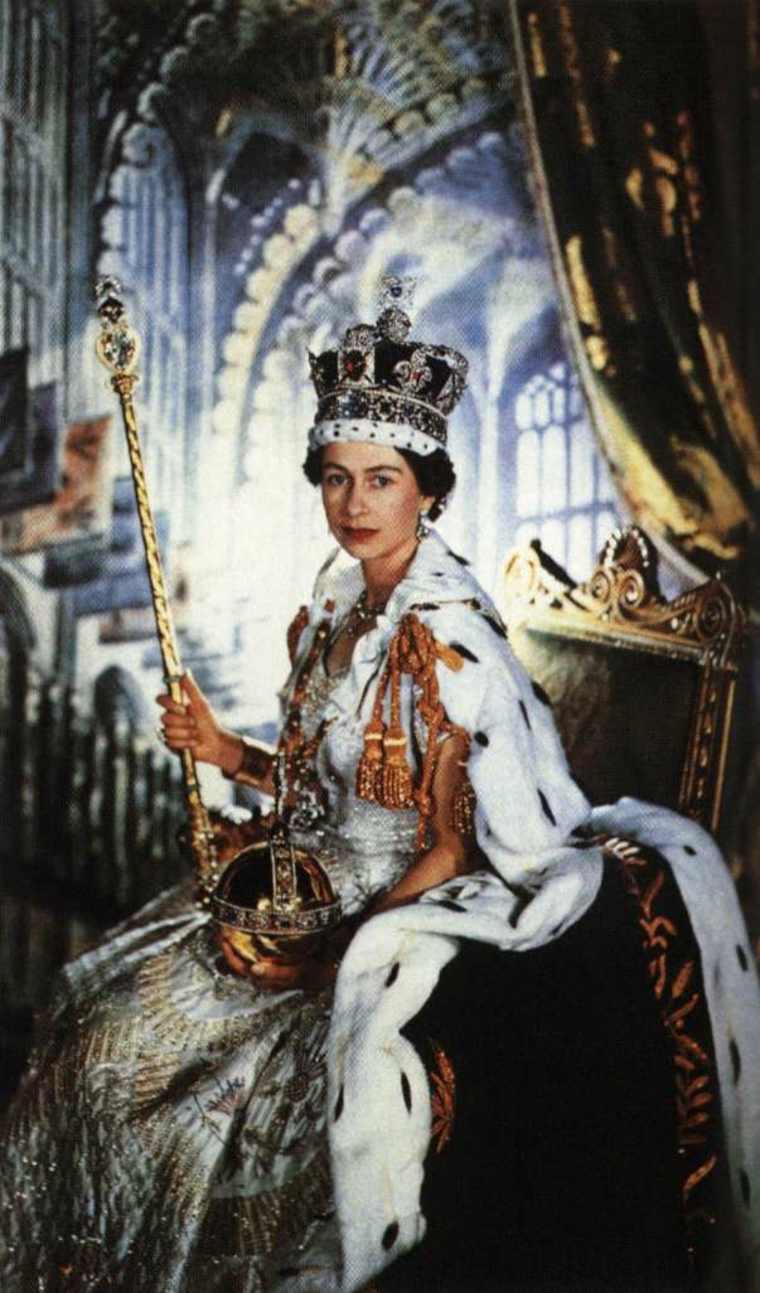 Coronación de la Reina de Inglaterra