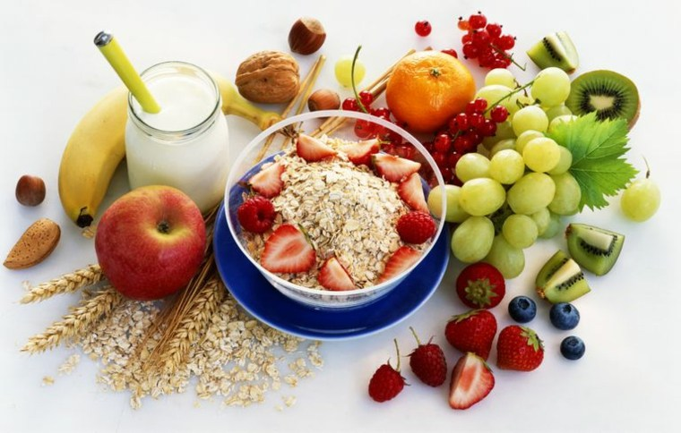 tomar alimentos sanos
