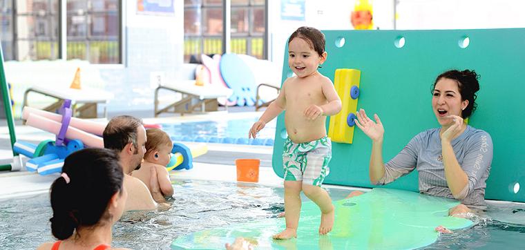 aprender a nadar desde pequeños
