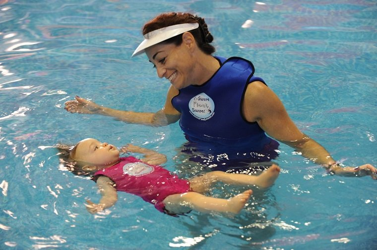 Aprender a nadar y flotar