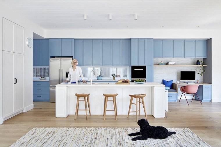 Diseños de casa con cocina/oficina