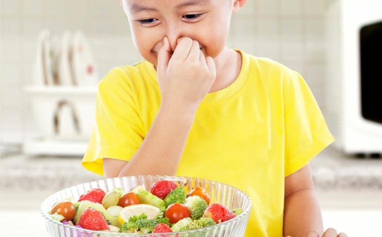 preparar alimentos sanos para niños