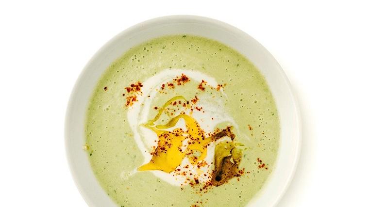 comidas frescas-sopas-verano-gazpacho-verde