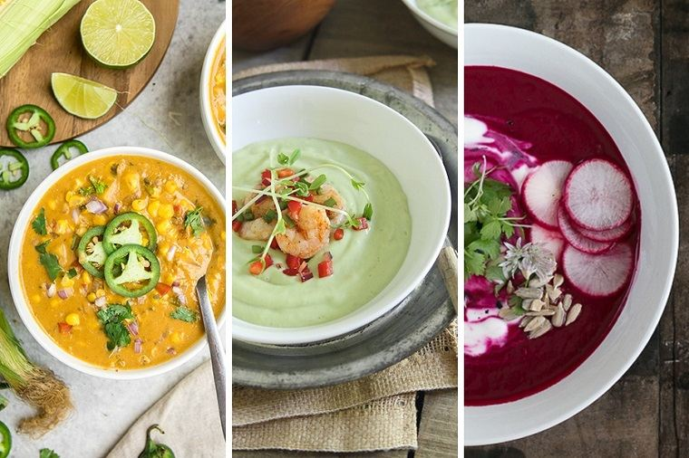 comidas fresca-sopas-verano-ideas