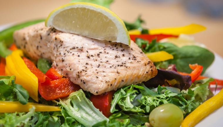 comida saludable insaturada