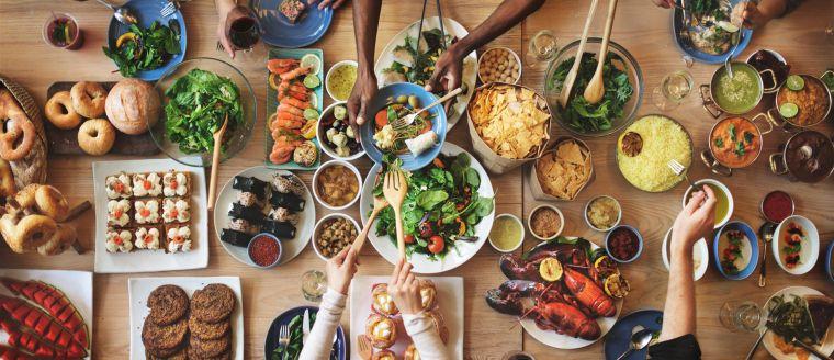 comidas frias compartir