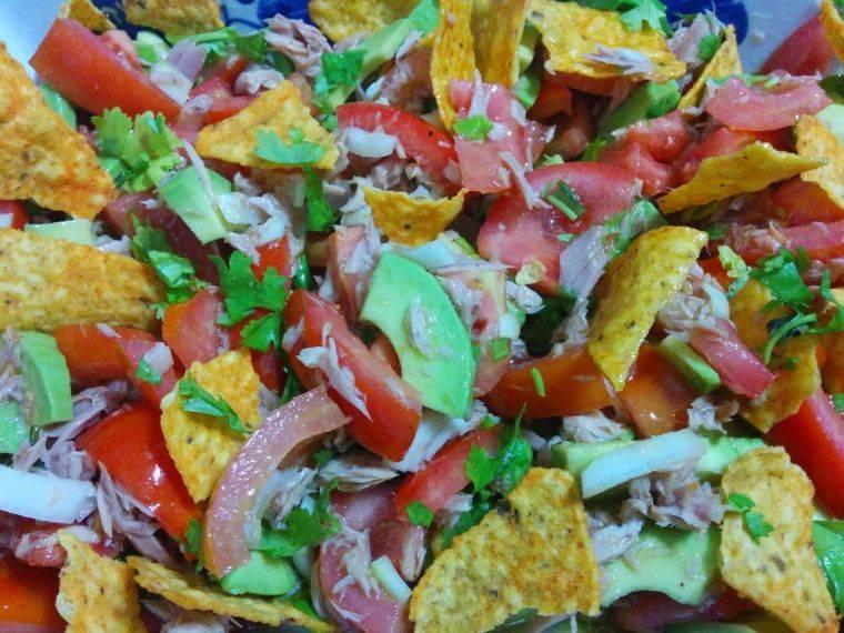 comidas frias nachos