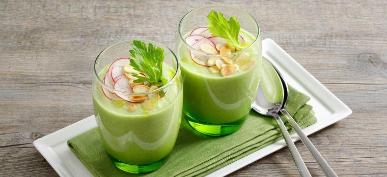 comidas frias verde