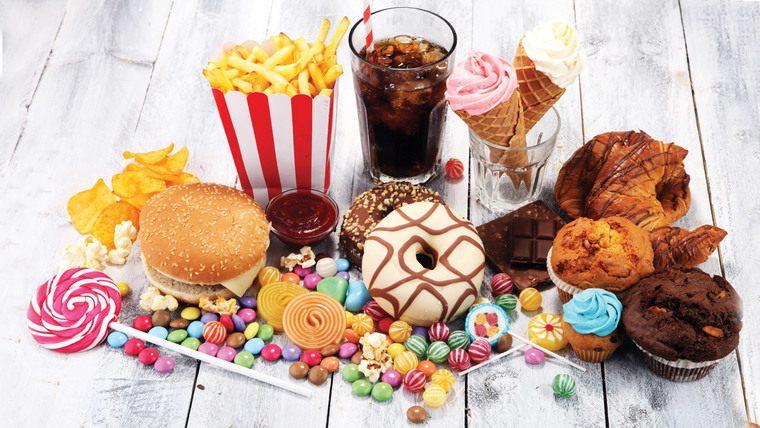 comidas grasas malas