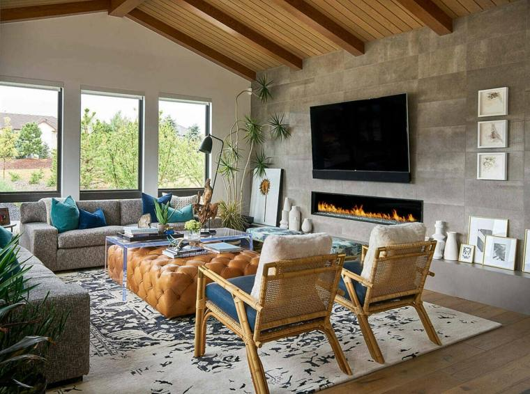 cómo decorar un salón-hri-design