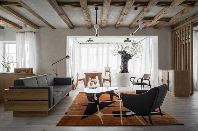 cómo decorar un salón-loft-kolasiski