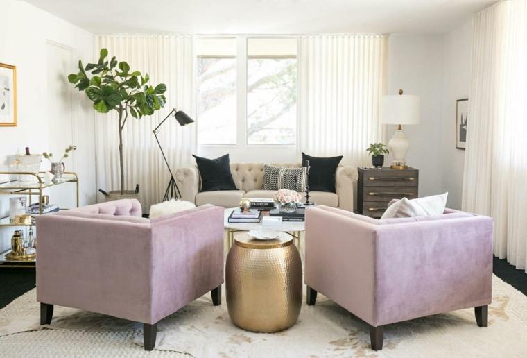 diseño interior de sala de estar