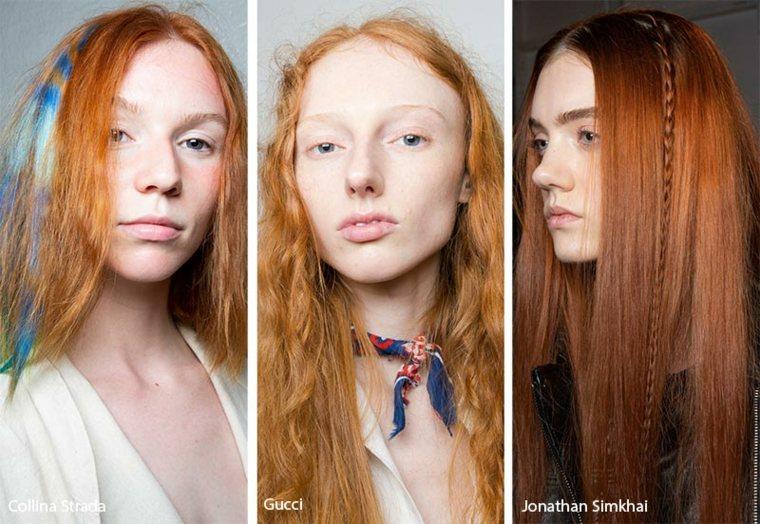 Cortes de cabello pelirrojo natural