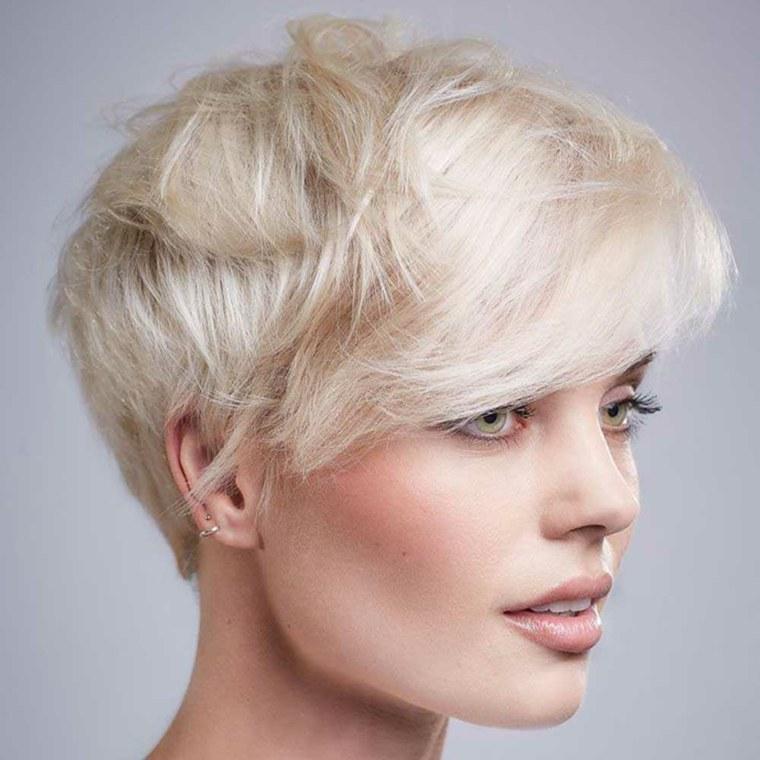 cortes de pelo corto modernos mujer-ideas