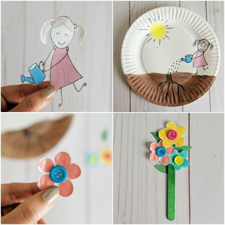 Manualidades para niños primavera