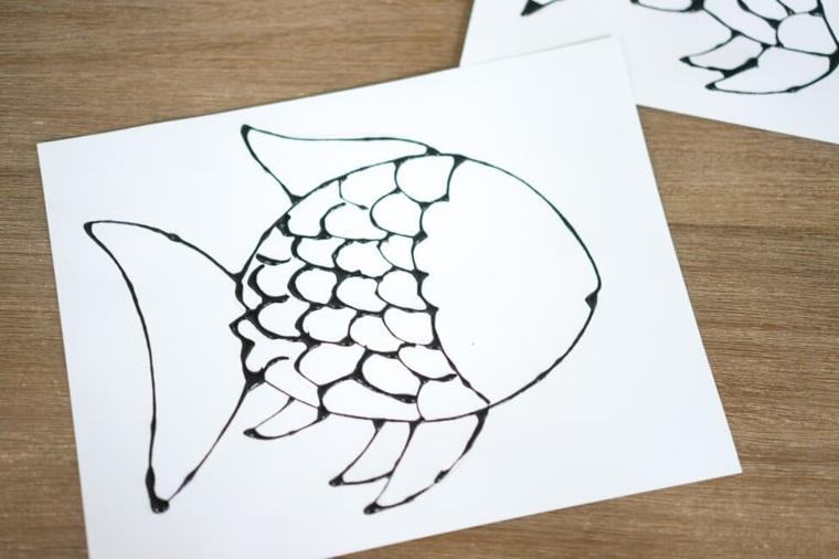 Dibujo de un pez