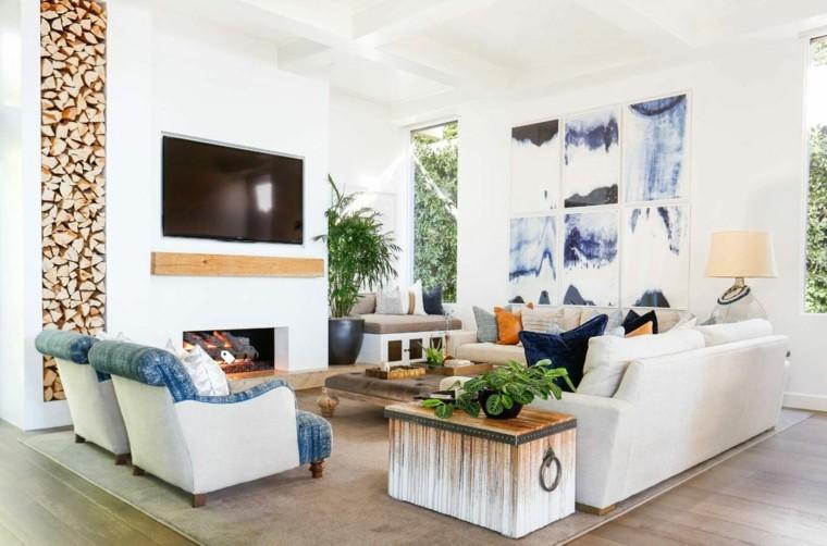 decoración de verano interiores