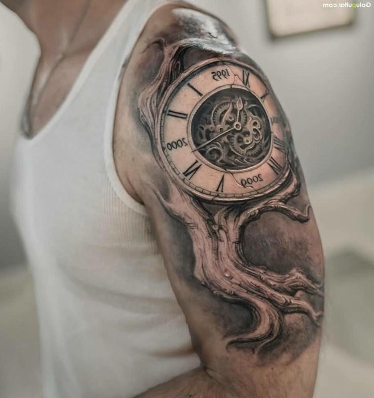 diseno-tatuaje-estilo-reloj-vintage