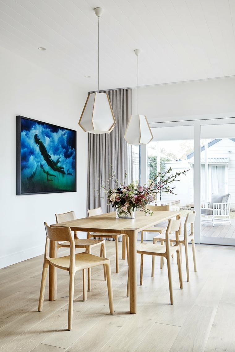 Diseños de casa con comedor