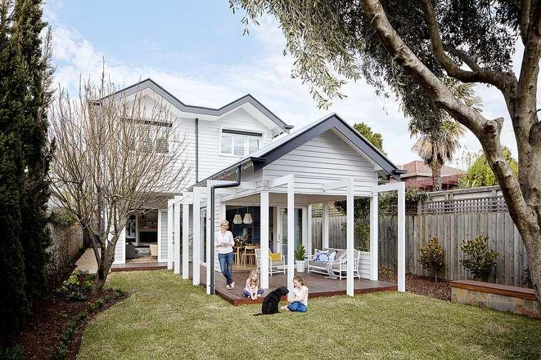 diseños de casas modernas con fachada clasica