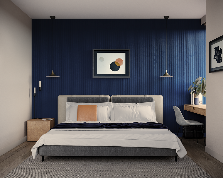 dormiorio-pared-color-azul-ideas