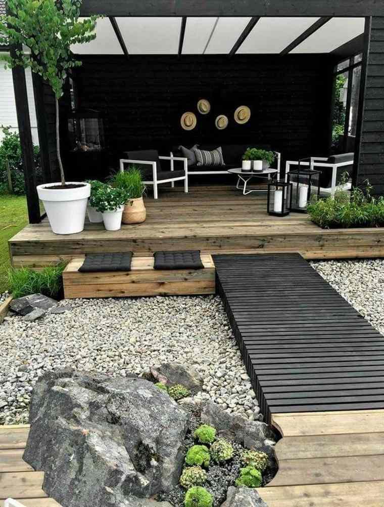 Convertir a las estructuras del jardín en puntos focales