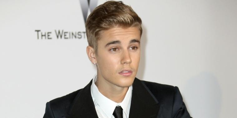 Estilo de peinado de Justin Bieber