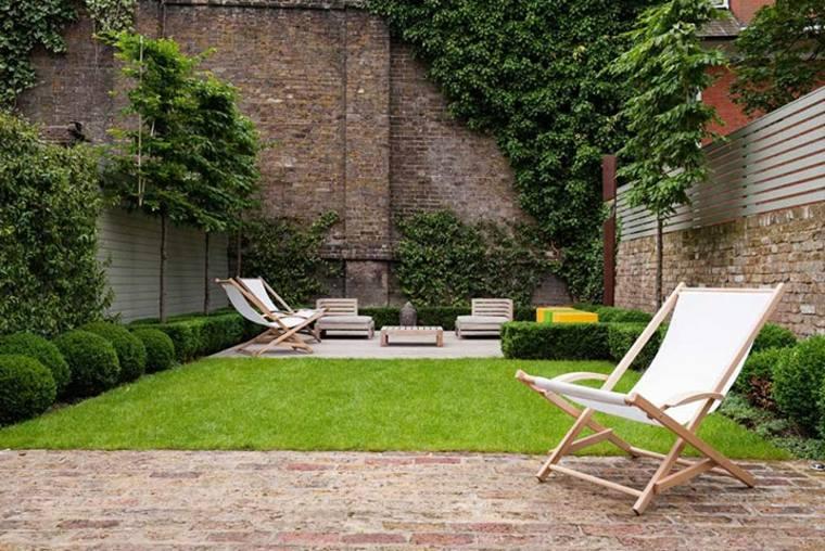 Ideas para amueblar jardines modernos