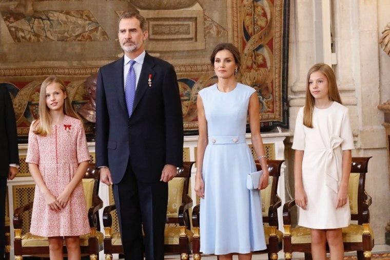 Fotografía de la familia Real de España