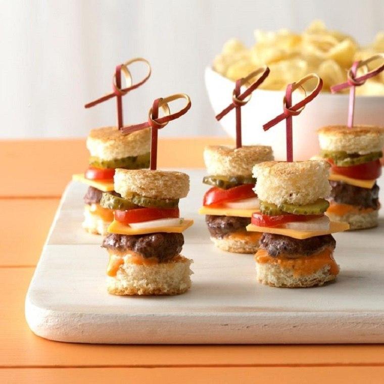 Fiesta de cumpleaños para niños-hamburguesas
