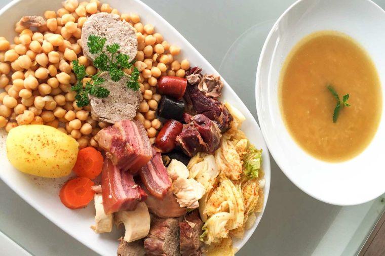 gastronomia española cocido