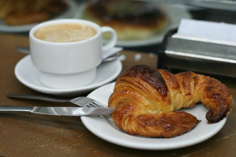 gastronomia española croissant