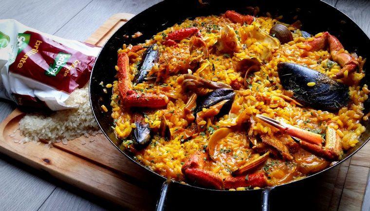 gastronomia española paella