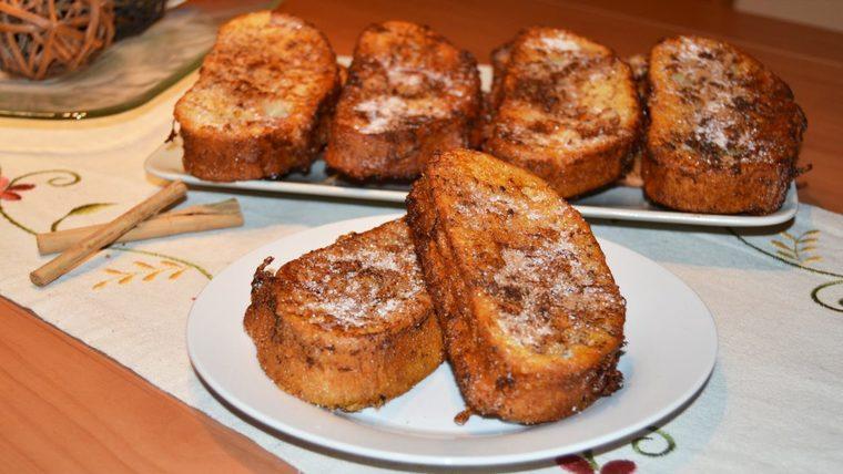 gastronomia española torrijas