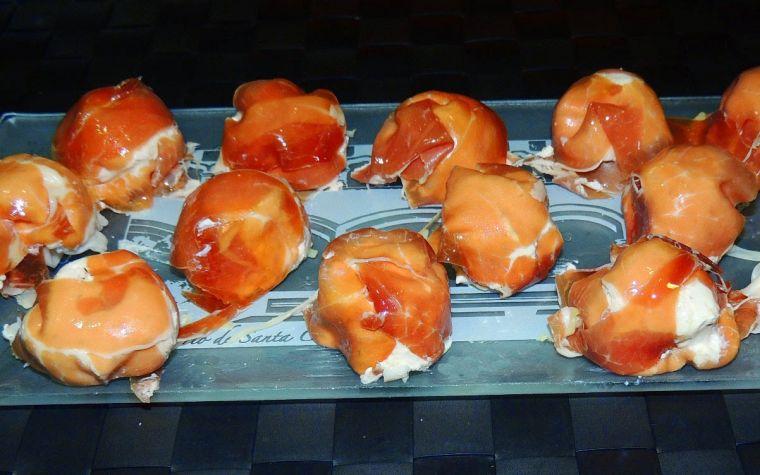 jamon iberico caramelos